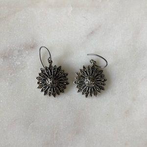 Fossil Flower Earrings